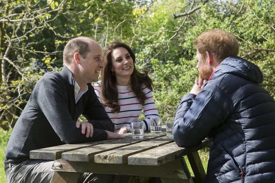 Kate Harry and William discuss Princess Diana's death