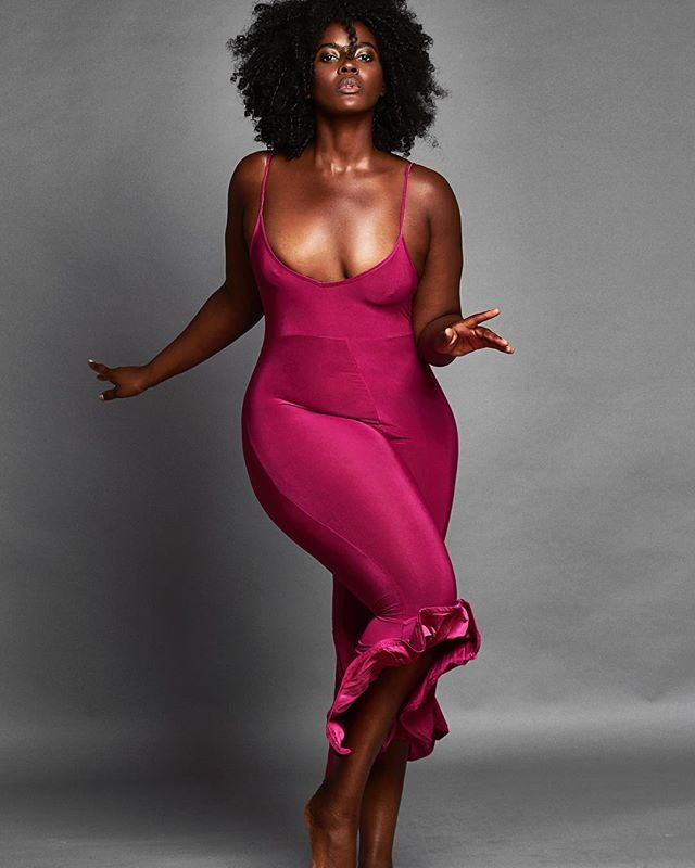 """<p>Having stared in numerous campaigns for brands like Lane Bryant, Estée<em> </em>Lauder, and Swimsuits for All, Philomena is one of the most in-demand plus-size models in the world. Alongside modeling for some of the world's biggest brands, the Ghanaian<em> </em>Brit balances motherhood and running a charity called <a href=""""https://www.facebook.com/TheLilyProject2014"""">The Lily Project</a>, which pairs mentors with young woman.</p><p><a href=""""https://www.instagram.com/p/BX1aq1ugRgu/?utm_source=ig_embed&utm_campaign=loading"""">See the original post on Instagram</a></p>"""