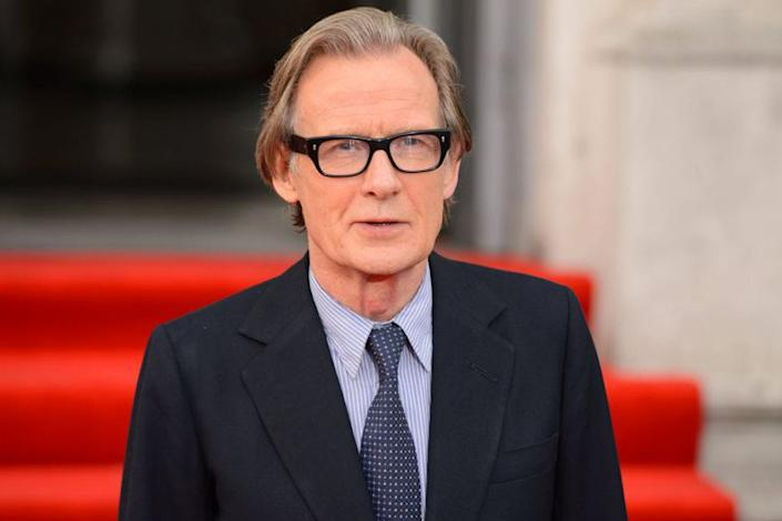 Modest: Bill Nighy said it was down to luck that he continues to land film roles (Picture: PA)