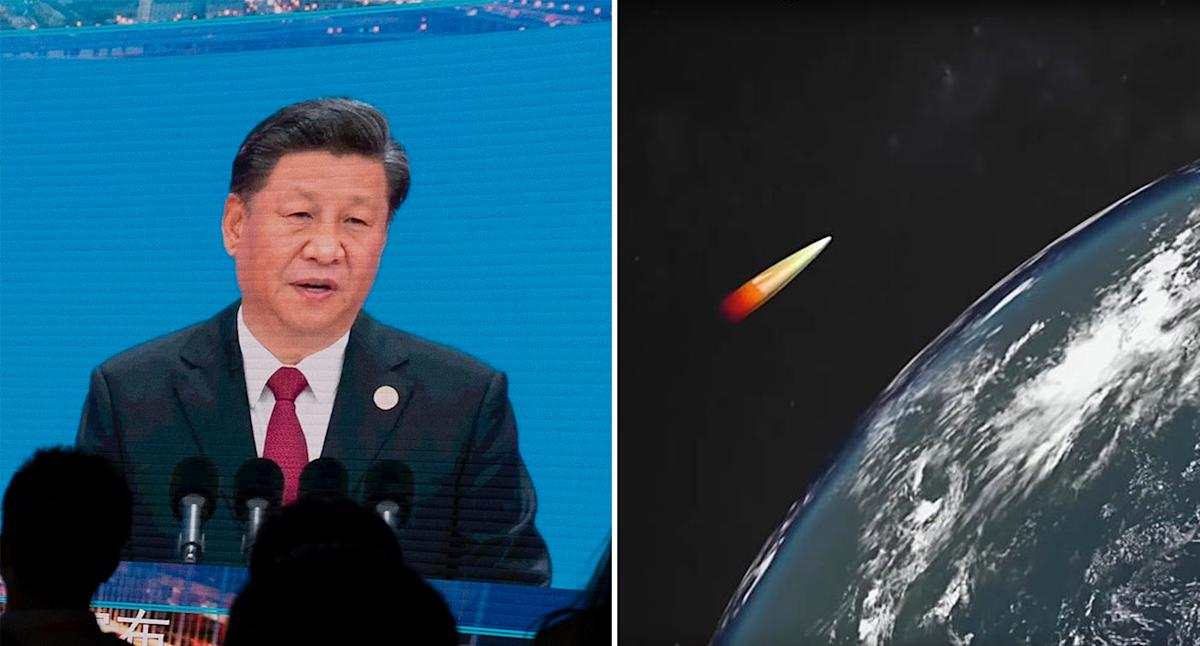 Bombshell leak reveals China's 'game-changing' hypersonic weapon