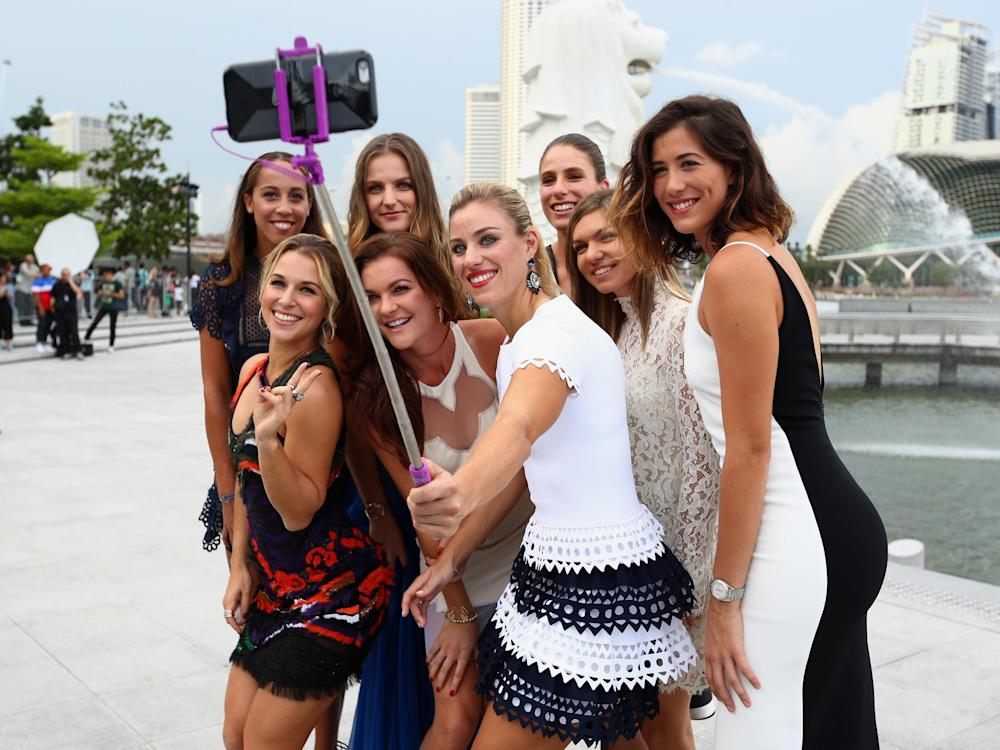 The WTA finals features the world's best players and has never been held in the UK: Getty