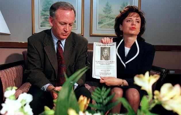 John and Patsy Ramsey in 1996. Source: Getty