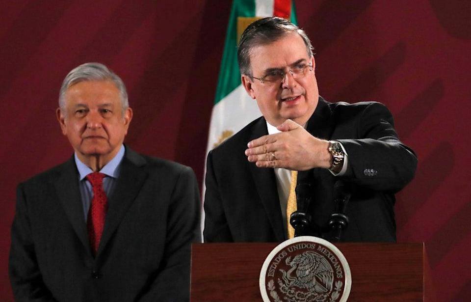Mexico Diplomacy (Copyright 2019 The Associated Press. All rights reserved.)
