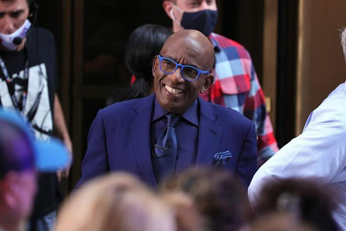 """Al Roker attends the """"Today"""" Show at Rockefeller Plaza on July 16, 2021 in New York City. (Photo by Dia Dipasupil/Getty Images)"""