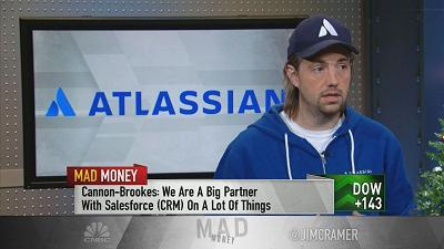 Jim Cramer sat down with Atlassian Corporation co-founder and co-CEO Mike Cannon-Brookers to hear about an outlandish bet he made with Elon Musk.