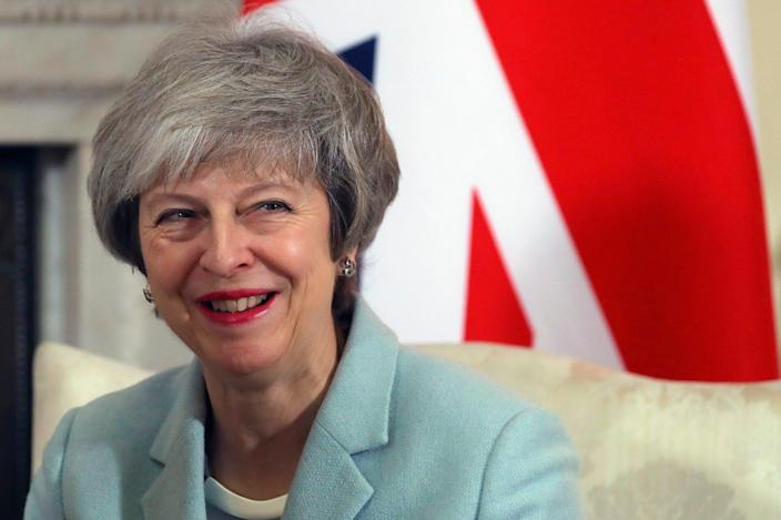 Polling suggests Theresa May could win working majority in a general election (AP)