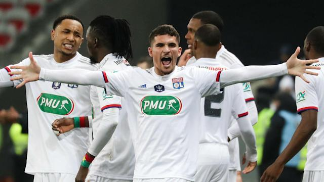 Lyon and Marseille will meet in the Coupe de France quarter-finals, while Paris Saint-Germain travel to Dijon.