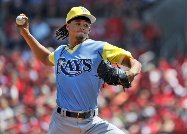 "Rays pitcher <a class=""link rapid-noclick-resp"" href=""/mlb/players/8849/"" data-ylk=""slk:Chris Archer"">Chris Archer</a> tweeted, ""Y'all came to the wrong house"" after getting an offseason PED test. (AP)"