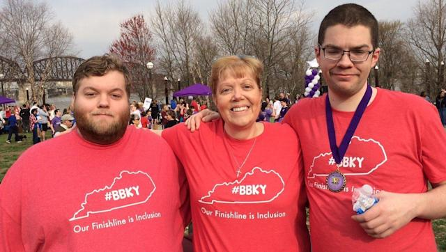 """""""Best Buddies really gave Blair a lot of confidence in himself."""" (Courtesy of Sue Patton)"""