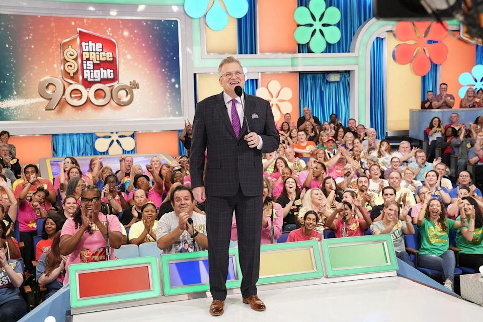 <p>He had some big shoes to step into, but actor and comedian Drew Carey has been doing a fantastic job as host since 2007. He got his start on <em>Star Search </em>in 1988 and then caught the attention of Johnny Carson in 1991. He's known for starring in <em>The Drew Carey Show </em>in and the comedy show <em>Whose Line Is It Anyway? </em>Before he started asking contestants to name the price of common items, Carey hosted <em>Power of 10, </em>a CBS game show.</p>