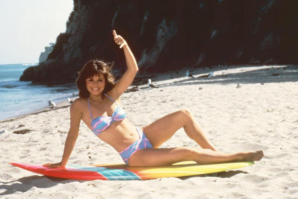 <p>Surf's up, and it's all thanks to Gidget Griffin (Caryn Richman).</p>