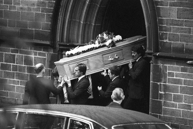 Clemence returned to Liverpool for Shankly's funeral during October 1981