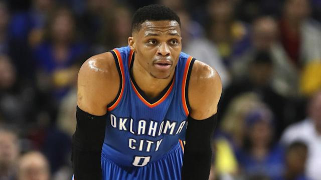 After Westbrook historically recorded his 42nd triple double on Sunday, he will take a break when the Thunder take on the Timberwolves.