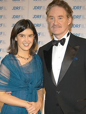 Kevin Kline and wife Phoebe Cates