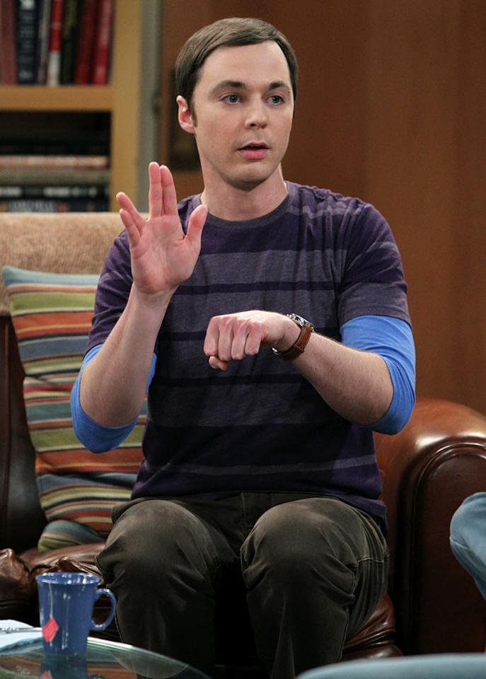 """<p class=""""MsoNormal""""><strong>Jim Parsons (""""The Big Bang Theory""""), 38</strong></p>  <p class=""""MsoNormal"""">We're convinced that """"<span>The</span> <span>Big Bang Theory</span>'s"""" Jim Parsons has a secret formula for youth. Jim was born on March 24, 1973, which makes him about 10 years older than his onscreen counterpart, science prodigy Sheldon Cooper. Can someone please explain the physics behind <span>that</span>? </p>"""