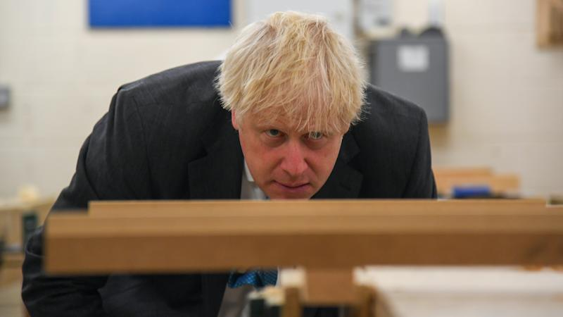 Johnson urges potential Tory rebels to back his Covid-19 laws for 'liberation'