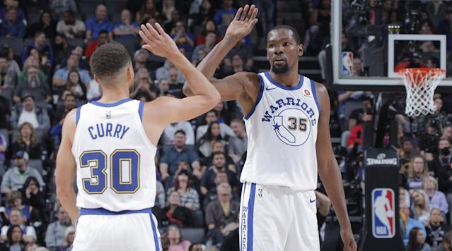 "<p>Kevin Durant will return to Seattle for the first time since the end of the 2007-08 season when the Warriors play host to the Kings at Key Arena Oct. 6 for a preseason game, Ailene Voisin of <em>The Sacramento Bee</em> <a href=""http://www.sacbee.com/sports/spt-columns-blogs/ailene-voisin/article201424674.html"" rel=""nofollow noopener"" target=""_blank"" data-ylk=""slk:reports"" class=""link rapid-noclick-resp"">reports</a>.</p><p>Voisin adds that the contract for the game has not been signed yet, but that is just a formality.</p><p>There has not been an NBA game in Seattle since the SuperSonics' home finale for the 2007-08 season, when they defeated the Mavericks 99-95 April 13, 2008. In that game, a rookie Durant put up 19 points, five rebounds, three assists, two blocks and a steal for the home team.</p><p>Durant, and the Sonics moved to Oklahoma City the following season and became the Thunder. In his one year as a Sonic, Durant won Rookie of the Year while averaging 20.3 points and 4.4 rebounds.</p><p>The Kings were nearly moved to Seattle in 2013. Now-Clippers owner Steve Ballmer and Chris Hansen attempted to buy the Kings with the intent to move them to Seattle, but then-NBA commissioner David Stern gave Sacramento a chance to put together a group of investors to match the sales price.</p>"