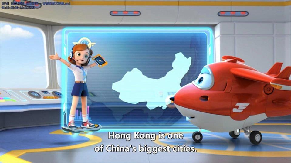 Companies that had previously shown the cartoon denied this was the case when asked for comment. Photo Super Wings