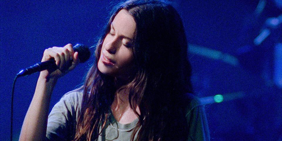 Alanis Morissette is the subject of the HBO music documentary, 'Jagged' (Photo: HBO/Courtesy of TIFF)