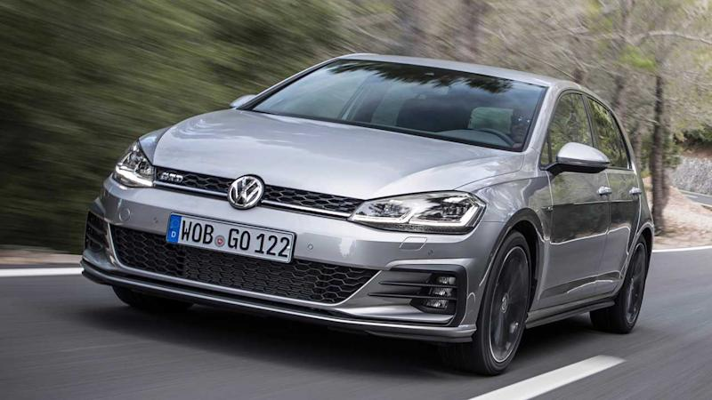 VW Golf GTD (2017)