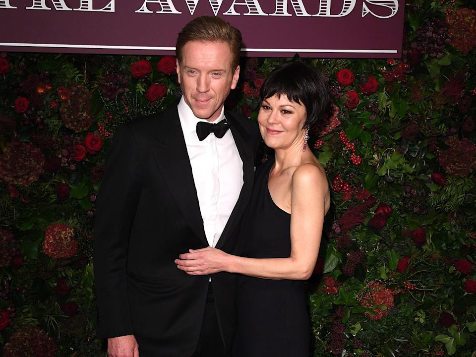 <p>'She blazed so brightly': Damian Lewis pays touching tribute to actor wife Helen McCrory after she dies aged 52</p> (Getty Images)