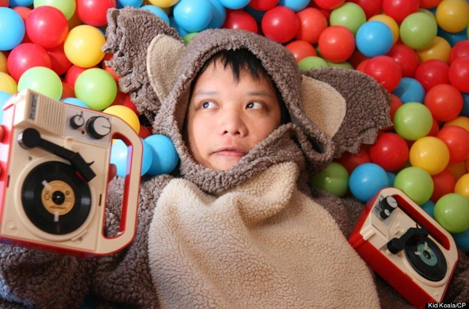 """One of the world's finest turntablists and also an accomplished cartoonist, Eric San aka Kid Koala has taken fans on the most imaginative musical journeys with his impressive DJ skills. <a href=""""http://www.spinner.com/2012/05/04/kid-koala-space-cadet/"""" target=""""_hplink"""">His recent foray into fatherhood with the birth of his daughter Maple inspired him to create Space Cadet</a>, a wordless graphic novel with its own soundtrack about a guardian robot and his daughter. And even though he says she doesn't like his music, Maple is still cool with his hectic tour schedule and even likes touring with him."""