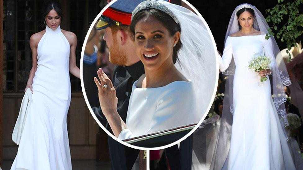<p>The new Duchess of Sussex has gotten married in style. Scroll through this gallery to see both her wedding day looks from every possible angle. Photo: Getty </p>