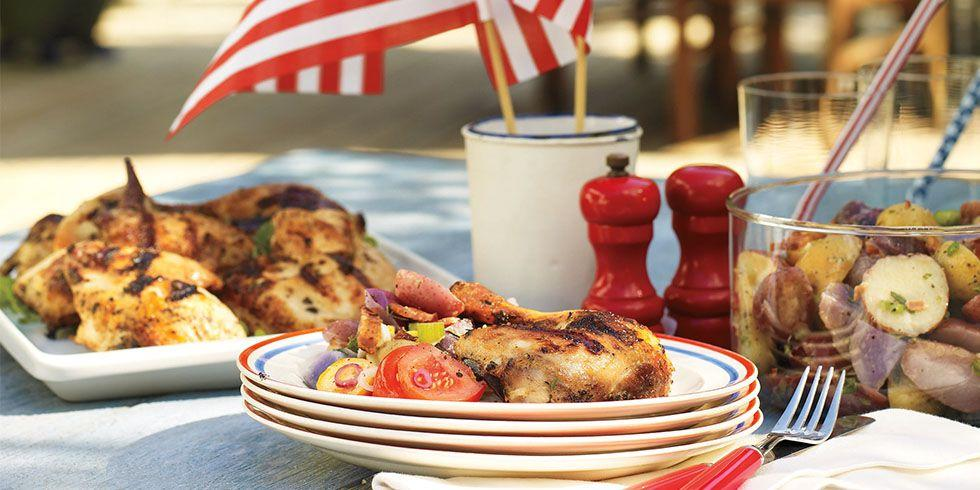 """<p>Kick off your <a rel=""""nofollow"""" href=""""http://www.womansday.com/food-recipes/g1180/4th-of-july-party-ideas/"""">Independence Day celebration</a> the right way  -  by heating up the grill and preparing a feast for your family. These <a rel=""""nofollow"""" href=""""https://www.womansday.com/food-recipes/food-drinks/g1594/4th-of-july-desserts/"""">delicious dishes</a> guarantee your backyard bash will be memorable. Just don't be surprised when guests ask you about next year's party as they leave.</p>"""
