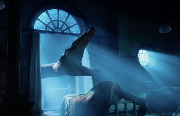 He looks scary in the teaser trailer, but the BFG is actually very friendly. Photo: Walt Disney Studios