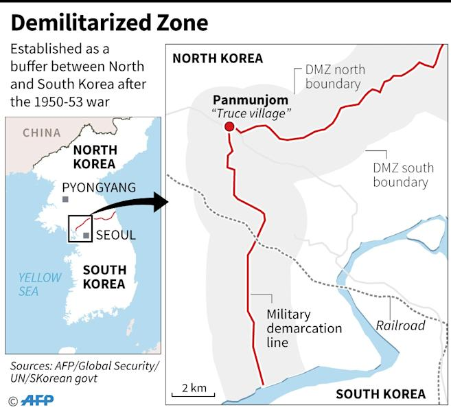 Demilitarized Zone (AFP Photo/AFP  )
