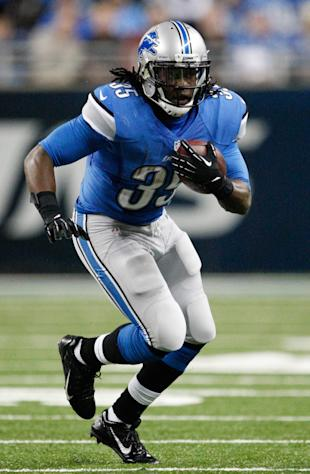 Joique Bell has earned a big role in Detroit. (Raj Mehta-USA TODAY Sports)