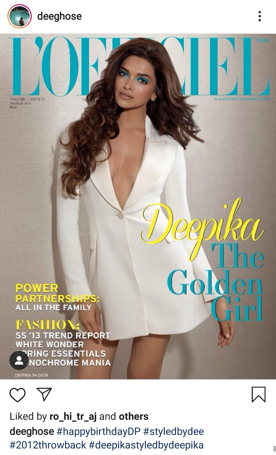 Styled by Deepika Ghose