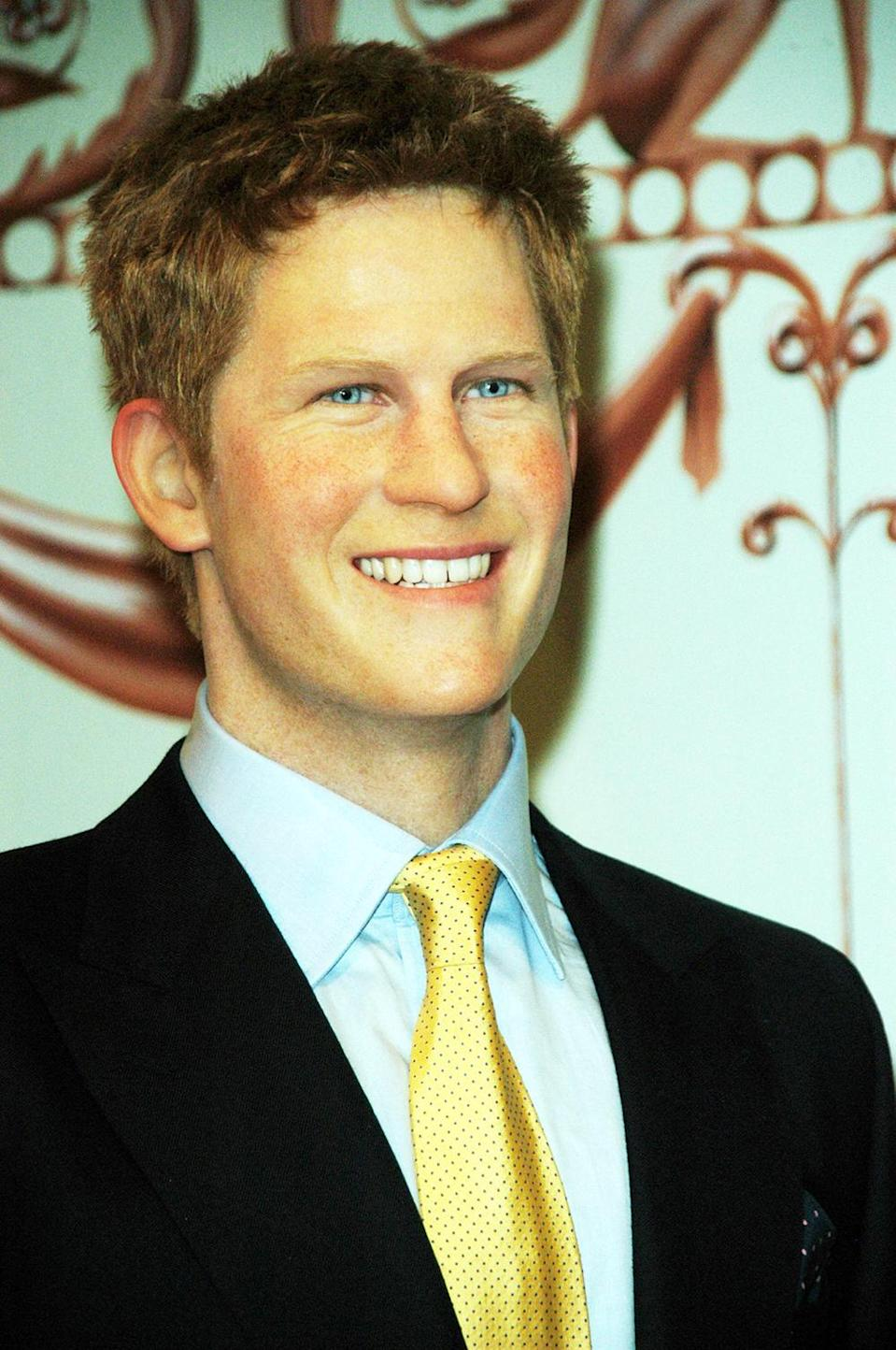 <p>Madame Tussauds London produced than less than impressive version of Prince Harry. Copyright: [Wenn] </p>