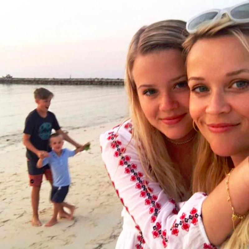 We'd Be Lying If We Said We Weren't Envious of Reese Witherspoon's Family Beach Day