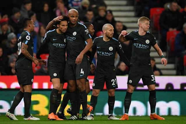 Stoke vs Manchester City LIVE latest score: Premier League 2017-18 goal updates, TV and how to follow online, team news and line-ups at bet365 Stadium