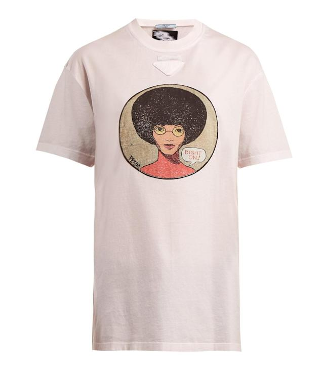 This Prada T-shirt costs $500. (Photo: Prada)