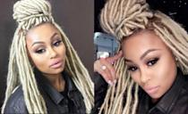 <p>Is Blac Chyna wondering if blondes have more fun? Rob Kardashian's baby mama recently posted a pic of her sporting, long, blonde dreadlocks to Instagram… <i> (Photos: Instagram/December 2016) </i> </p>