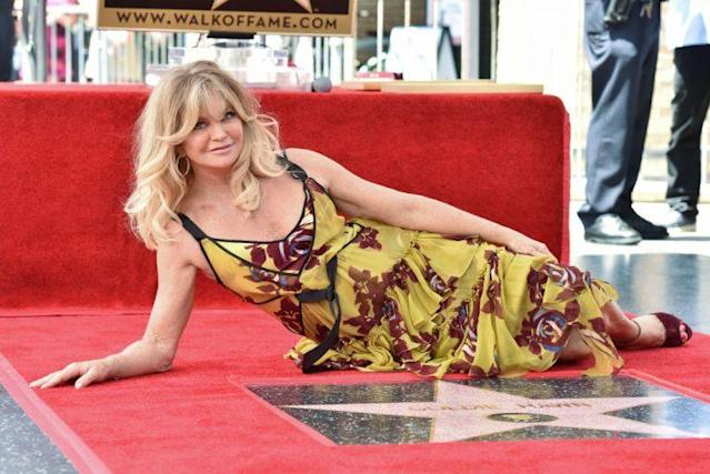 Goldie Hawn in Cinq à Sept. (Photo: Getty Images)