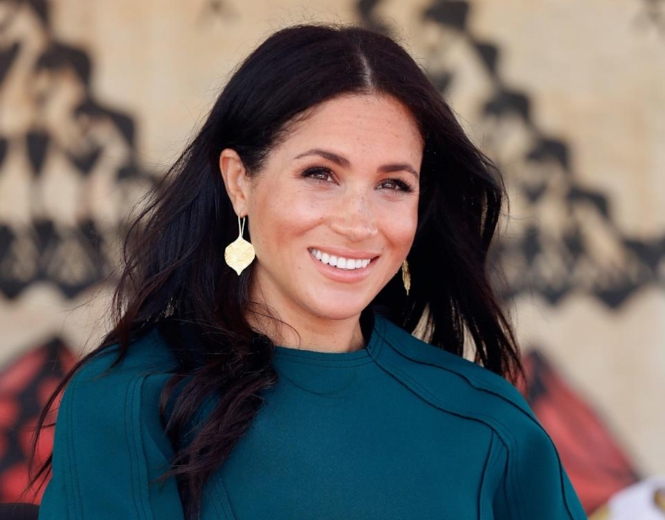 <p>Meghan spoke of 'everyday struggles during Covid-19'</p> (PA)