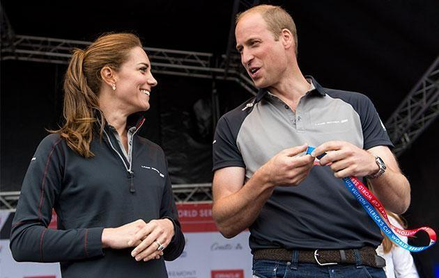 The royals presented the trophies to the winners. Photo: Getty Images