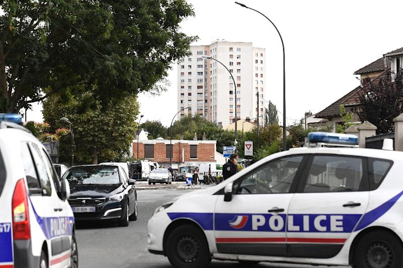 Two arrested in Paris terror raid