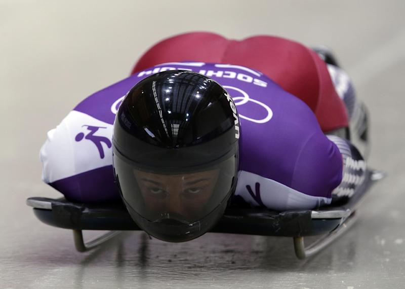 Latvia's Dukurs on track to skeleton gold