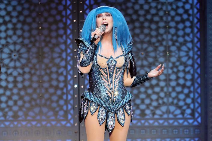 """Cher performs at Madison Square Garden on December 04, 2019 in New York City. <span class=""""copyright"""">Taylor Hil</span>"""