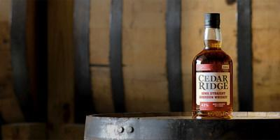 Cedar Ridge Iowa Straight Bourbon Whiskey