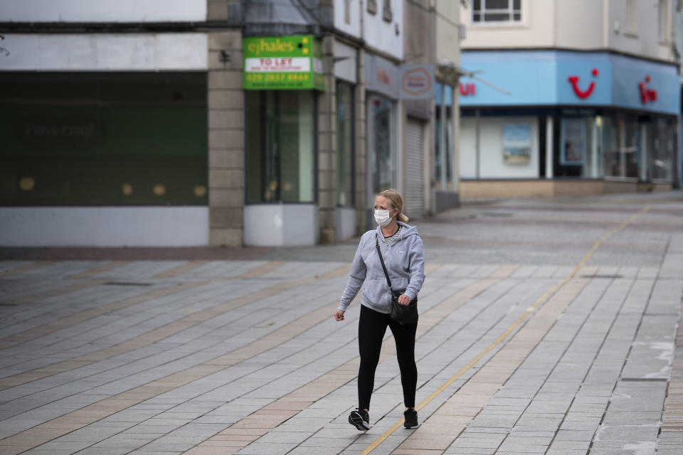 High streets have been deserted as shoppers drive to out-of-town retail parks. Photo: Getty