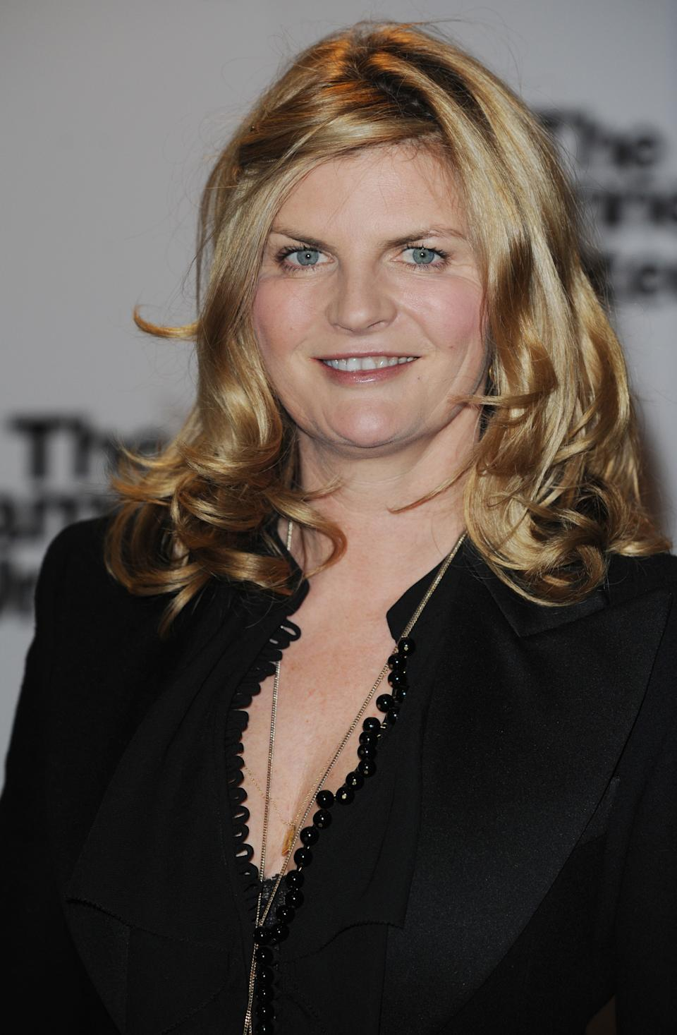 Susannah Constantine arriving at the premiere of The Damned United at the Vue Cinema in London.