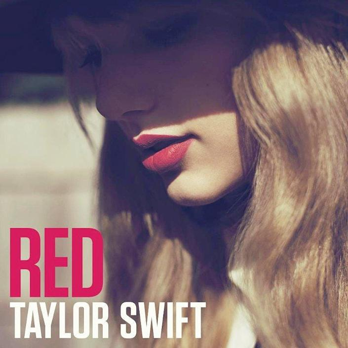 red taylor swift album