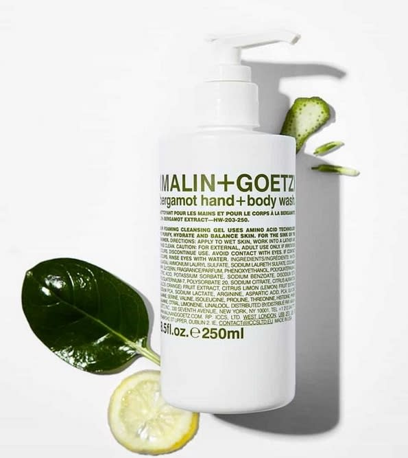 malin and goetz body wash