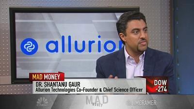 Jim Cramer sat down with the founder of Allurion Technologies to hear about his privately-held biotech company's revolutionary obesity treatment.