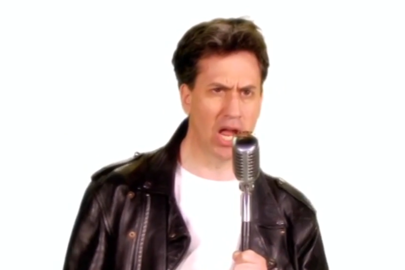 Ed Miliband during his TV appearance